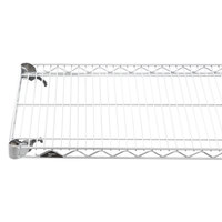 Metro A1842NC Super Adjustable Chrome Wire Shelf - 18 inch x 42 inch