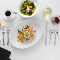 Acopa Edgeworth Stainless Steel Extra Heavy Weight Flatware Set with Service for 12 - 60/Pack