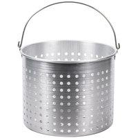 40 Qt. Aluminum Stock Pot Steamer Basket