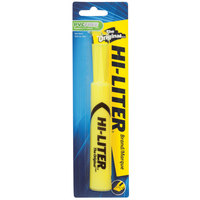 Avery 24001 Hi-Liter® Fluorescent Yellow Chisel Tip Desk Style Highlighter