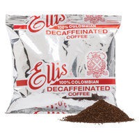 Ellis Colombian Decaf Coffee 6 oz. Packets - 48/Case