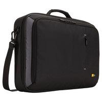 Case Logic 3200926 19 1/4 inch x 3 7/8 inch x 14 1/4 inch Black Clamshell Laptop Case