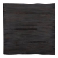 Lancaster Table & Seating 24 inch x 24 inch Solid Wood Live Edge Table Top with Antique Slate Gray Finish