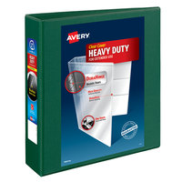 Avery 79683 Green Heavy-Duty View Binder with 2 inch Locking One Touch EZD Rings