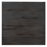 Lancaster Table & Seating 36 inch x 36 inch Solid Wood Live Edge Table Top with Antique Slate Gray Finish