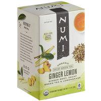 Numi Organic Decaf Ginger Lemon Tea Bags - 16/Box