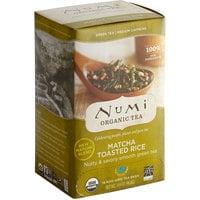 Numi Organic Matcha Toasted Rice Tea Bags   - 18/Box