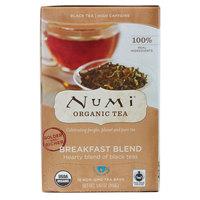 Numi Organic Breakfast Blend Tea Bags - 18/Box