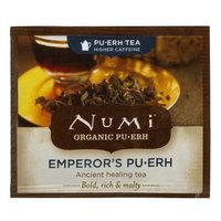 Numi Organic Emperor's Pu-Erh Tea Bags - 100/Case
