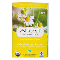 Numi Organic Chamomile Lemon Tea Bags - 18/Box