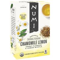 Numi Organic Chamomile Lemon Herbal Tea Bags   - 18/Box