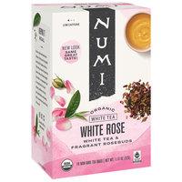 Numi Organic White Rose Tea Bags - 16/Box
