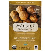 Numi Organic Dry Desert Lime Tea Bags - 18/Box