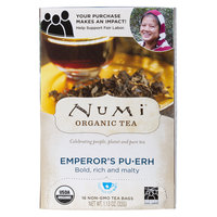 Numi Organic Emperor's Pu-Erh Tea Bags - 16/Box