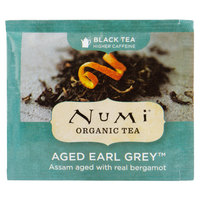Numi Organic Aged Earl Grey Tea Bags - 100/Case