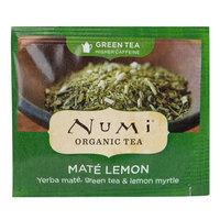 Numi Organic Mate Lemon Tea Bags - 100/Case