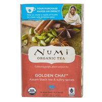 Numi Organic Golden Chai Tea Bags - 18/Box