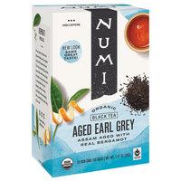 Numi Organic Aged Earl Grey Tea Bags - 18/Box