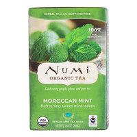 Numi Organic Moroccan Mint Tea Bags - 18/Box