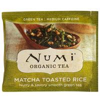 Numi Organic Matcha Toasted Rice Tea Bags - 100/Case