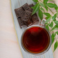 Numi Organic 2.2 oz. Aged Pu-Erh Tea Brick - 6/Box