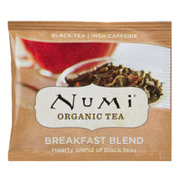 Numi Organic Breakfast Blend Tea Bags - 100/Case