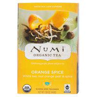 Numi Organic Orange Spice Tea Bags - 16/Box