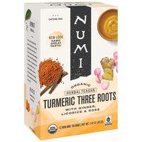 Numi Organic Three Roots Turmeric Tea Bags - 12/Box