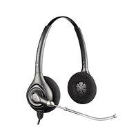 Plantronics HW261 SupraPlus Black Binaural Over-the-Head Wideband Voice Tube Headset