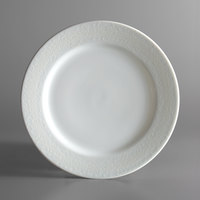 Oneida L5803050129 Ivy Flourish 7 3/4 inch Bright White Porcelain Plate - 24/Case