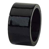 Tabletop Classics AC-6512B Black 1 3/4 inch Round Acrylic Napkin Ring