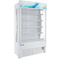 Avantco WVAC-46HC 46 inch White Refrigerated Air Curtain Merchandiser