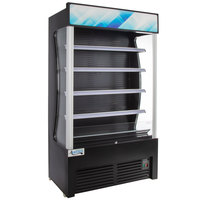 Avantco BVAC-46HC 46 inch Black Refrigerated Air Curtain Merchandiser