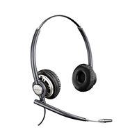 Plantronics HW720 EncorePro Black Premium Binaural Over-the-Head Wideband Noise-Canceling Headset