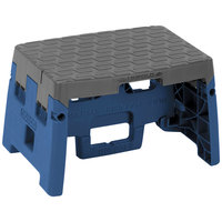 Cosco 11903BGR1E Blue / Gray 1 Step Folding Step Stool