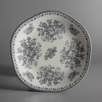 Oneida L6703068119 Lancaster Garden 6 1/2 inch Grey Porcelain Plate - 48/Case