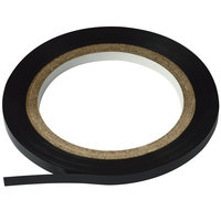 Cosco 098077 Black 1/8 inch x 324 inch Gloss Finish Art Tape