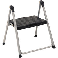 Cosco 11014PBL1E Platinum / Black One-Step Folding Step Stool