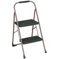 Cosco 11308PBL1E Big Step Black / Gray 2 Step Folding Step Stool