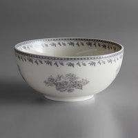 Oneida L6703068730 Lancaster Garden 7 oz. Grey Porcelain Bowl - 48/Case