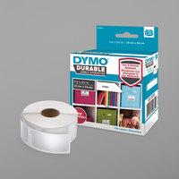 DYMO 1976411 LabelWriter 1 inch x 2 1/8 inch White Self-Adhesive Multi-Purpose Label - 160/Roll