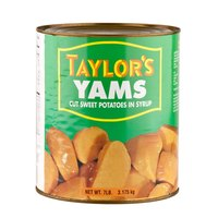 Cut Sweet Potatoes in Syrup #10 Can