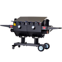 R & V Works FF6-R 17 Gallon Outdoor Cajun Deep Fryer