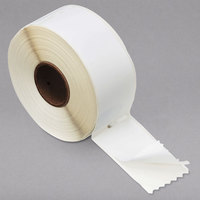 DYMO 30572 LabelWriter 1 1/8 inch x 3 1/2 inch White Address Self-Adhesive 260-Label Roll - 2/Pack