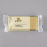 Aromae Botanicals 0.8 oz. Sunflower and Grapefruit Face and Body Cleansing Bar Soap - 600/Case