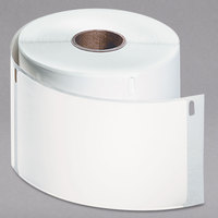 DYMO 1763982 LabelWriter 2 5/16 inch x 4 inch White Shipping Permanent Self-Adhesive Label Roll - 250/Roll
