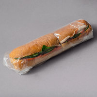 LK Packaging 20 inch x 20 inch BOPP Clear Deli Sandwich Wrap - 1000/Case