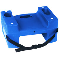 Koala Kare Booster Buddies KB116-S-04 Blue Plastic Booster Seat - Dual Height with Safety Strap - 5/Pack