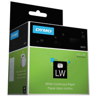 DYMO 30270 LabelWriter 2 1/4 inch x 300' White Continuous-Roll Receipt Paper