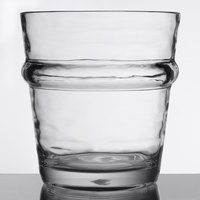 Libbey 92430 Infinium Wake 12 oz. Stackable Tritan Plastic Double Old Fashioned Glass - 12/Case